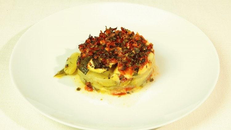Briam con patate e zucchine