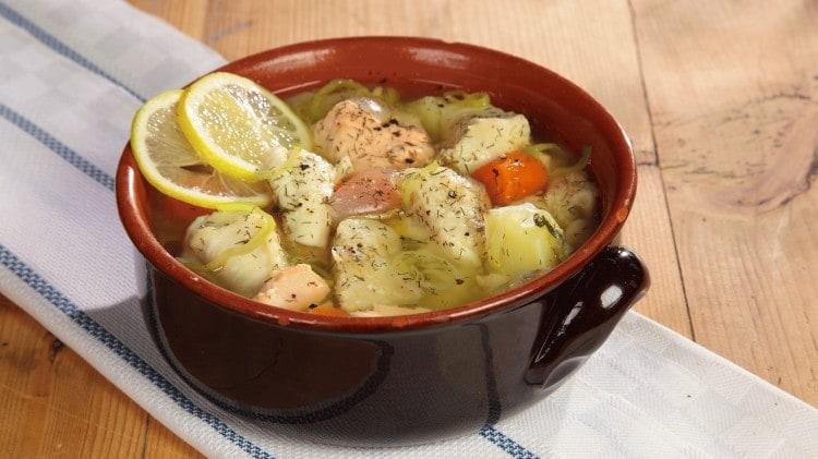 Zuppa di pesce | Ucha