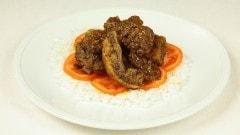 Costolette di maiale con salsa di curry