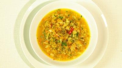 Zuppa di verdure miste indiana