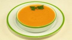 Zuppa di carote