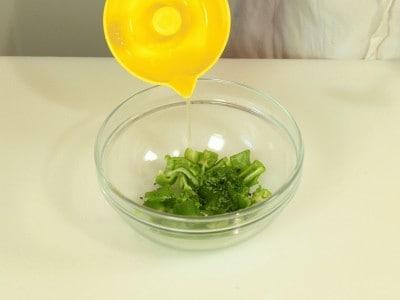 Gamberi (su spiedo) con verdure