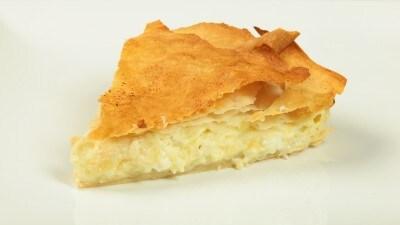 Focaccia con formaggio | Tiropita