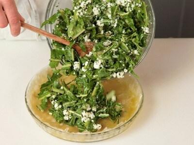 Focaccia con le verdure