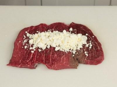Rotolo di vitello con formaggio
