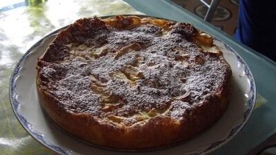 Torta di mele fiorentina