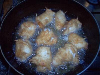 Involtini di petto di pollo impanati