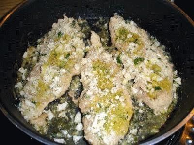 Filetto di maiale gratinato