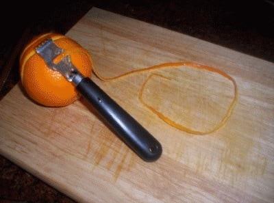 Crepes all'arancia