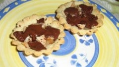 Crostatine pere e cioccolato fondente