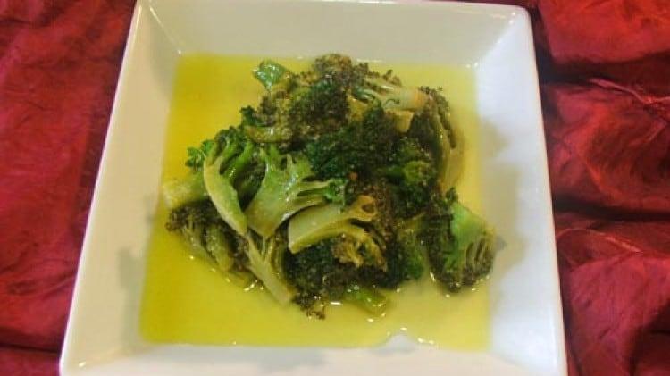 Cime di broccolo siciliano stufate