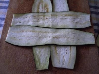 Bauletti di melanzane