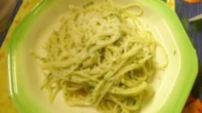 Spaghetti limone e prezzemolo