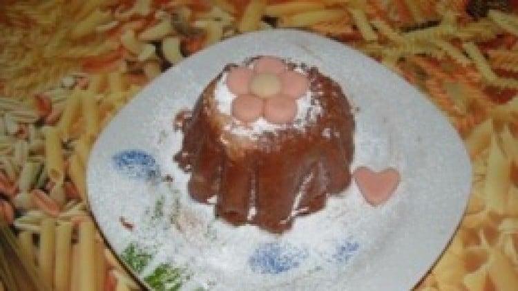 Semifreddo di cioccolato e biscotti