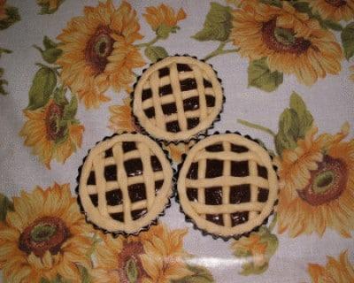 Crostatine con crema di nutella