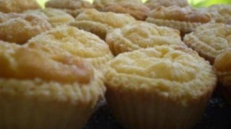 Crostatine di riso e crema pasticcera