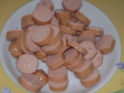 Bocconcini di würstel in pastella