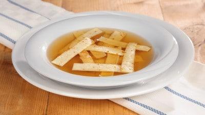Zuppa con frittatine