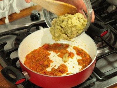 Curry di melanzane