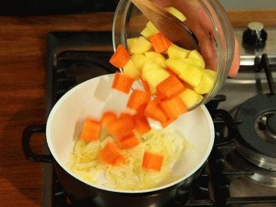 Zuppa di verdura mista