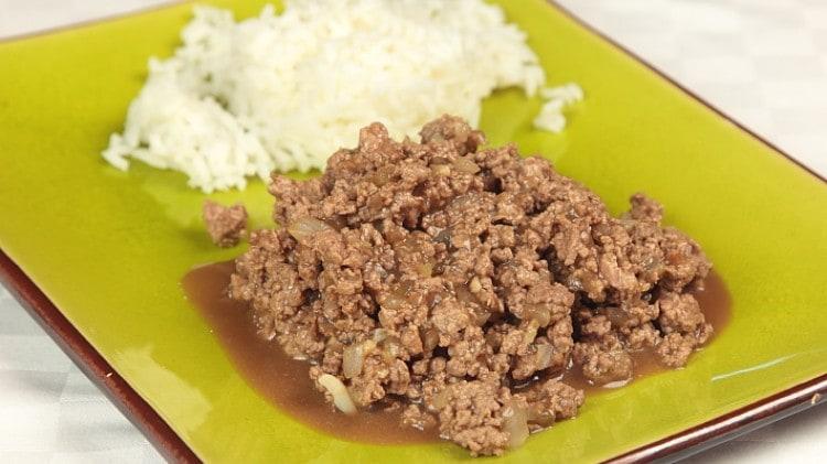 Preferenza Carne tritata alla cinese: Ricette Cina | Cookaround FA65