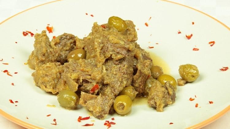 Arrosto con olive