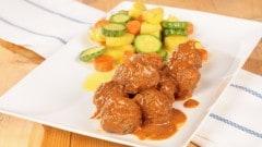 Polpette di carne in salsa di pomodoro