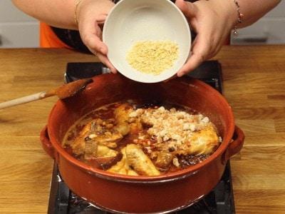 Pollo alla catalana