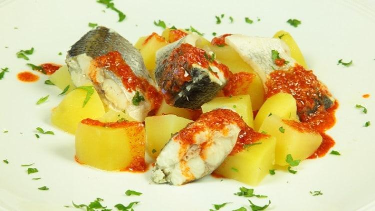 Pesce e patate alla moda delle Canarie