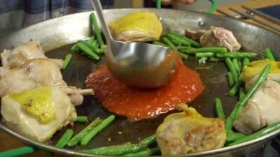 Paella valenciana casalinga