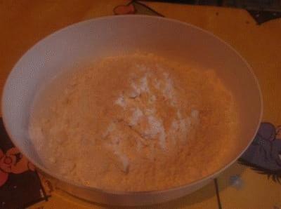 Torta gasata con nutella e cocco