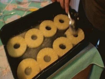Torta all'ananas di AWIMMAWE