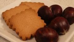 Frollini alla farina di castagne