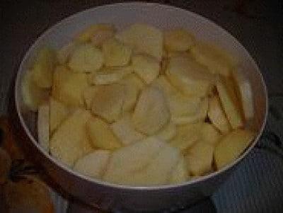Branzino con patate al forno