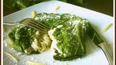 Bauletti di risotto alla lattuga e limone