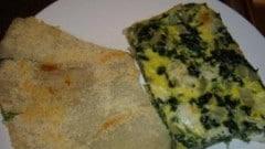 Frittata al forno di coste verdi