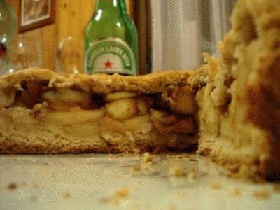 Torta mele e cannella