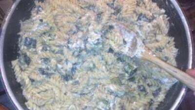 Sugo di zucchine e ricotta