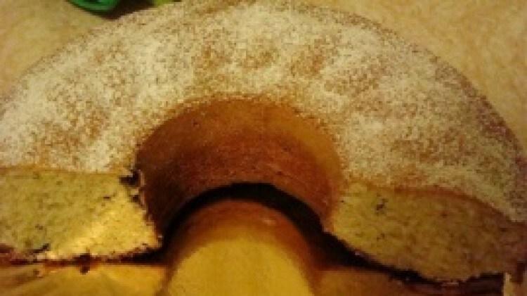 Plum cake alla banana con gocce di cioccolato