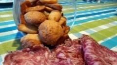 Biscotti salati al grana
