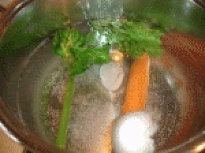 Polpo in insalata di patate prezzemoline
