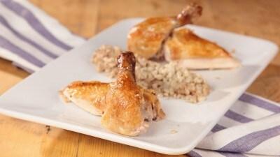 Pollo arrosto ripieno