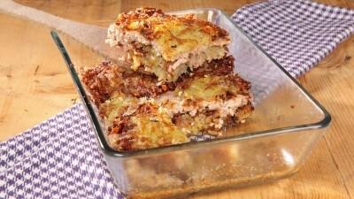 Frittelle spesse di patate nello stile di Miensk