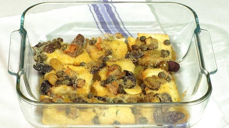 Baccalà gratinato