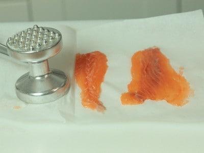 Millefoglie di salmone