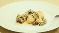 Filetti di pollo panna e funghi