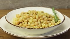 Pasta e ceci alla romana