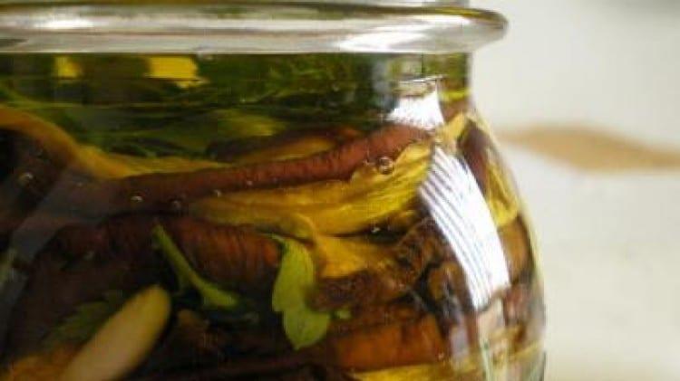 Melanzane secche sott'olio