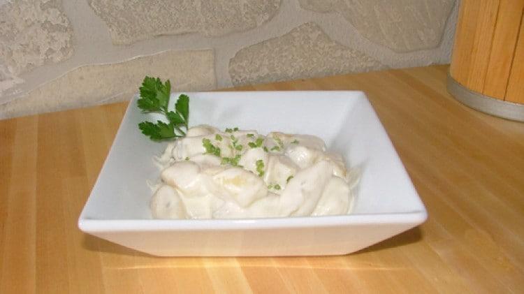 Gnocchi di patate al gorgonzola