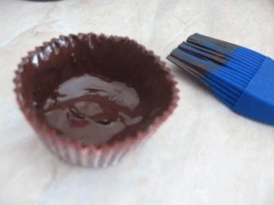 Pirottini di cioccolata